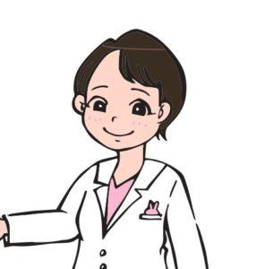 優子先生のイラスト